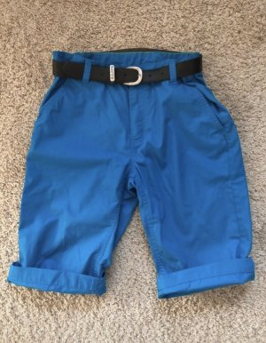 Pantalón pirata azul-azul acero