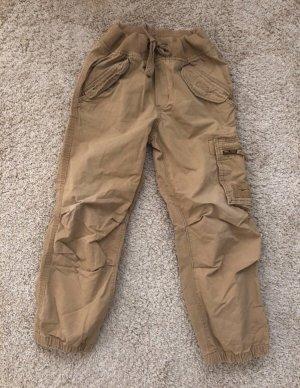 Pantalone Capri beige-color cammello
