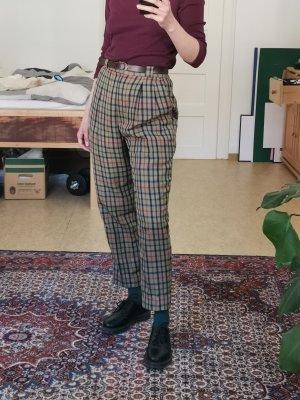 True Vintage Pantalone a pieghe multicolore