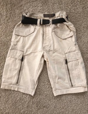 Pantalone a 3/4 crema-beige chiaro