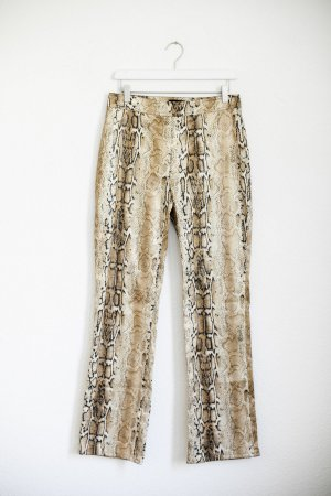 Vintage Hose Schlangenmuster