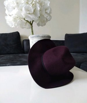 Vintage Felt Hat purple