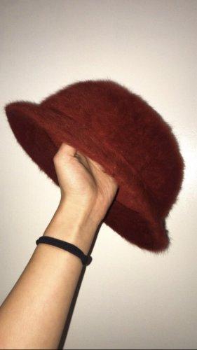 Vintage Felt Hat bordeaux-carmine