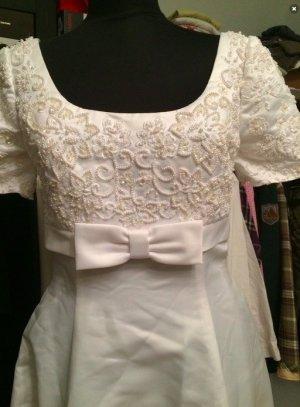 Vintage Imperial Gown Hochzeitskleid Gr. 36