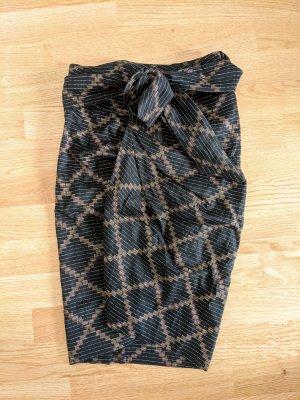 Isabel Marant Wraparound Skirt multicolored cotton