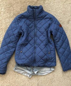 Pikowana kurtka niebieski