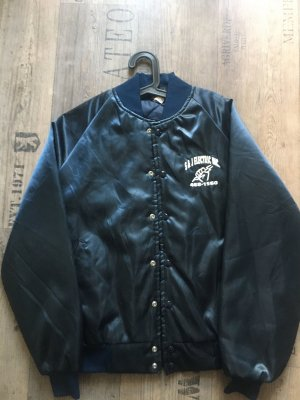 Real Vintage College Jacket blue