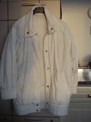 Vintage - Jacke Anorak Gr. 40/42 Creme - Raglanärmel - Baumwolle