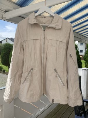 Vintage Jacke in beige in Größe XXL