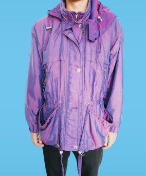 Vintage Veste à capuche violet