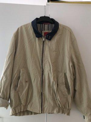 Sarar Oversized Jacket beige-slate-gray