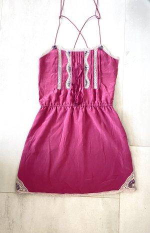 Vintage Japanisches Seiden Kleider