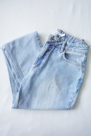 Nakd Jeans a vita alta blu-azzurro