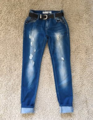 Low Rise jeans blauw