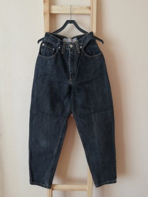 Vintage Hoge taille jeans veelkleurig