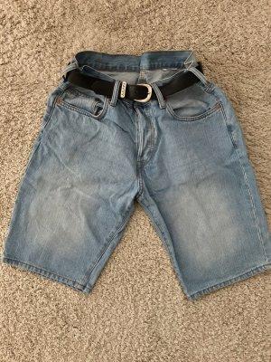 Denim Shorts baby blue-azure