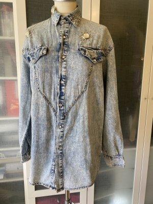Vintage Jeans Bluse Gr 36 top