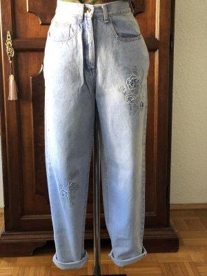 C&A Jeans boyfriend azzurro-argento