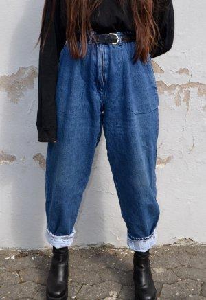 Vintage Jeans larghi multicolore