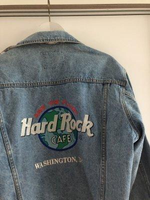 American Vintage Veste en jean bleuet-bleu coton