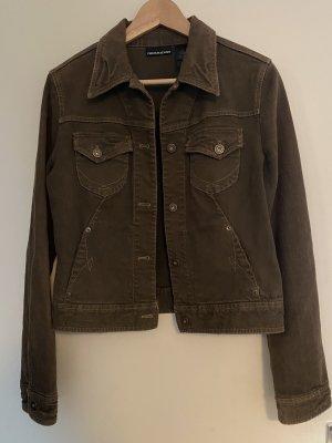 Vintage Jeans Jacke von DKNY in braun