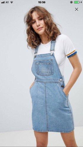 Vintage Jeans-Latzkleid
