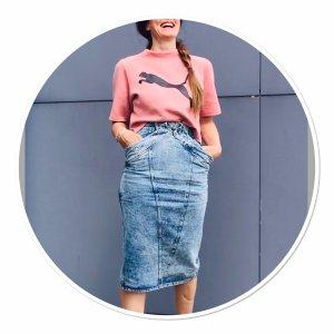 Vintage Jeans Rock Gr.38 super Style