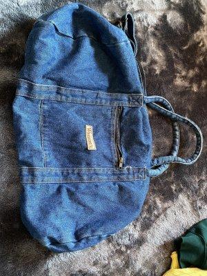 Vintage Love Canvas Bag blue