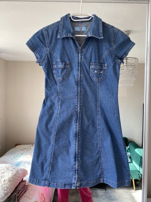 American Vintage Denim Dress multicolored cotton