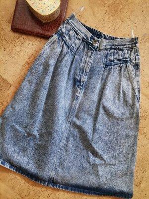 Vintage Jeansrock 80s