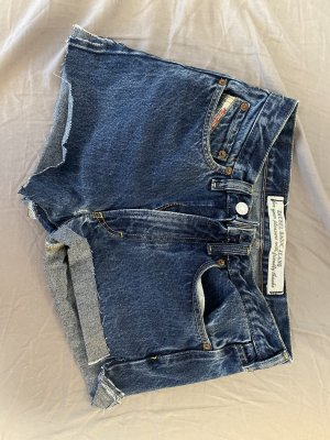 Diesel Pantalón corto de tela vaquera azul
