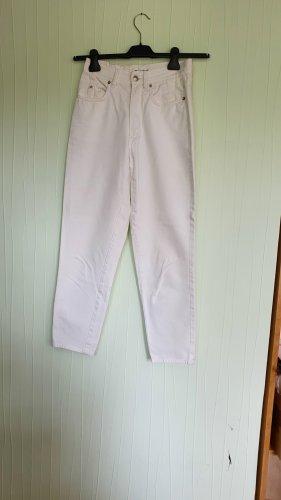 Jil Sander Jeans carotte blanc coton