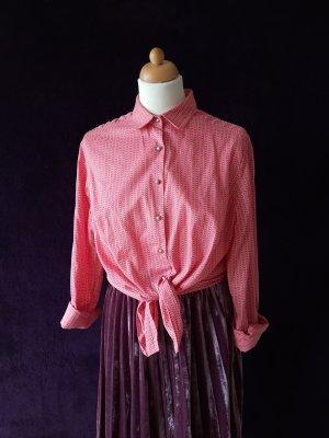 Vintage Karlsbader Bluse aus Baumwolle