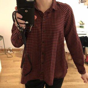 Vintage Karo Hemd weiblich geschnitten