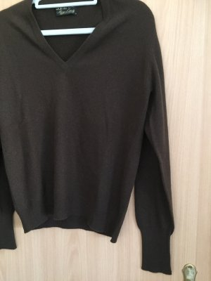 Cashmere Jumper dark brown