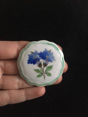 Vintage Keramikbrosche