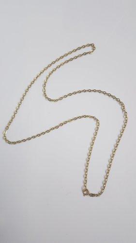Vintage Kette 333 Gold, Gliederkette, Gelbgold