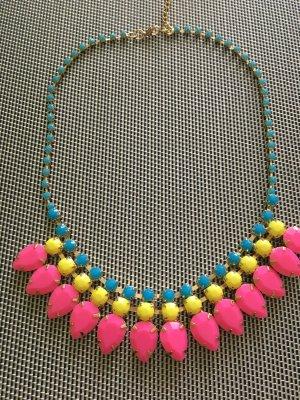 Vintage Kette Halskette Steine Halskette neu