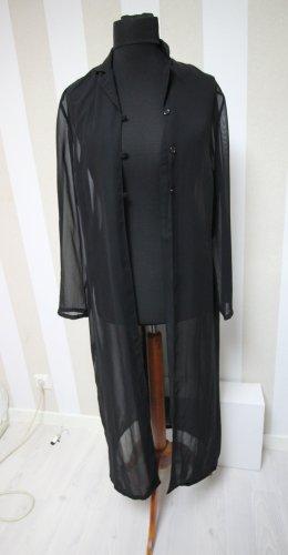Vintage Kimono Mantel Jacke transparent