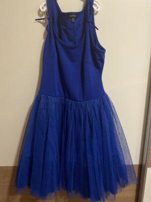 Paprika Robe à volants bleu