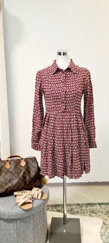 True Vintage Vestido tipo blusón multicolor