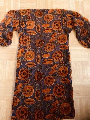 Hippie Dress orange-brown