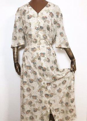 Vintage Kleid aus viskose Mut Blümchen