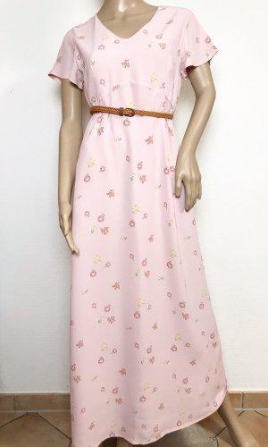 Vintage Kleid mit Blumenmuster aus Viskose von Laura Ashley