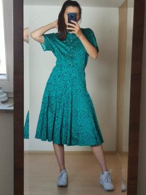 vintage Kleid mit leoprint