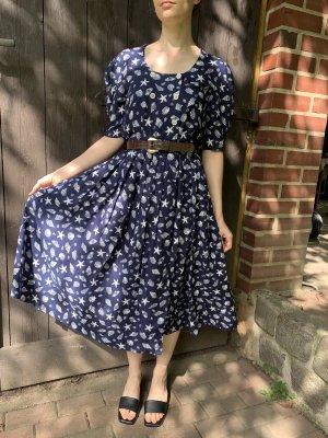 Vintage Kleid mit Muscheln