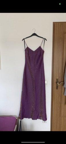 Vintage Kleid mit Perlen und V Ausschnitt