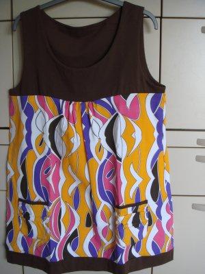 Vintage Robe Hippie multicolore coton