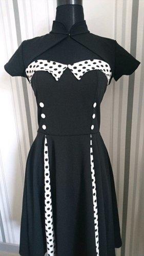 Vintage Kleid (RV101) mit Bolero Größe L = 40 RV Defekt