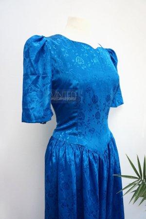 Vintage Kleid Satin